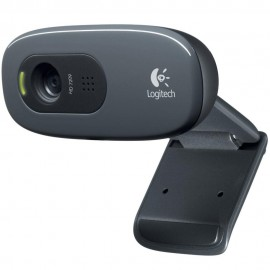 WebCam Logitech HD 720p 3 MP Chamadas e Gravações em Vídeo Widescreen