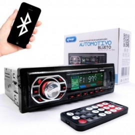 Som Automotivo Bluetooth Auto Radio Som Carro Kp-C17bh