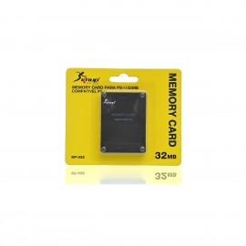 Memory Card Playstation 2 32mb C/ 1 Unidade