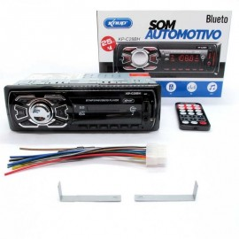 Som Automotivo MP3 Player Bluetooth,USB, Cartão KP-C28BH